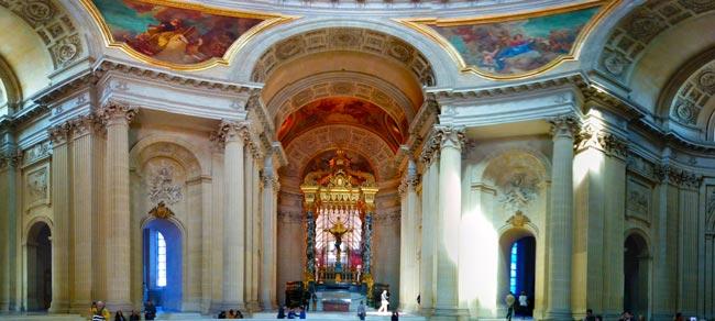 Eglise du Dome Le Tombeau de Napoléon panorama
