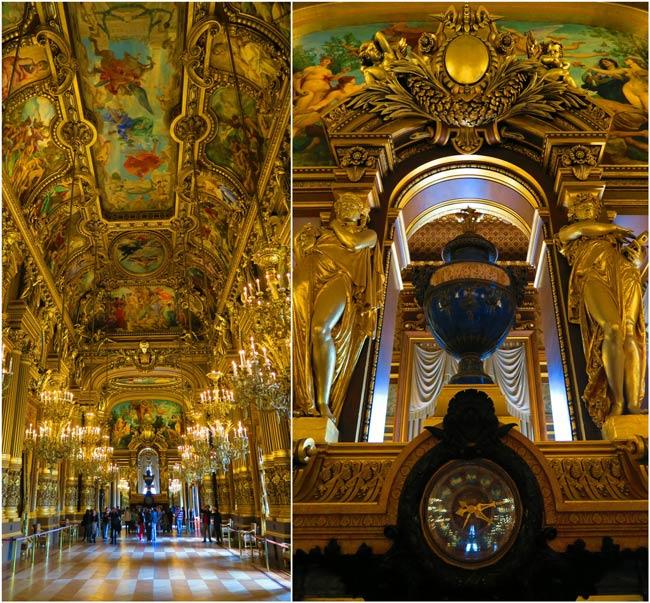 Superficie Grand Foyer Opera Garnier : Grand foyer opera garnier paris days in y