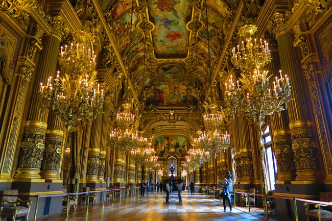 Grand Foyer Palais Garnier Paris
