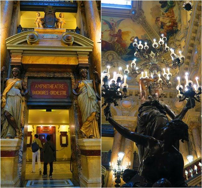 Grand Stairacase decoration palais garnier paris