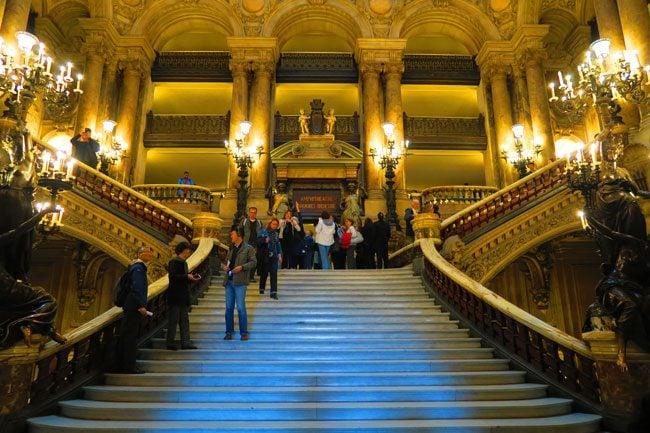 Grand Staircase Opera Garnier Palais Garnier Paris
