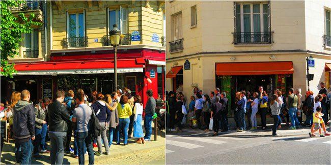 Ice cream shops ile de la cite ile saint louis paris