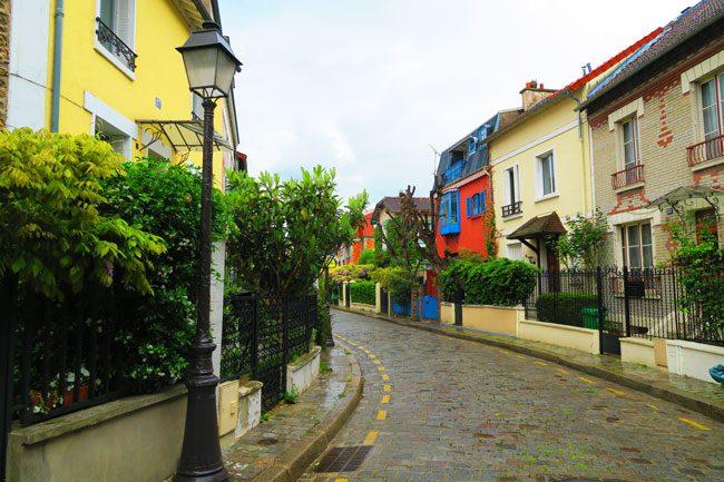 la Campagne à Paris village in Paris