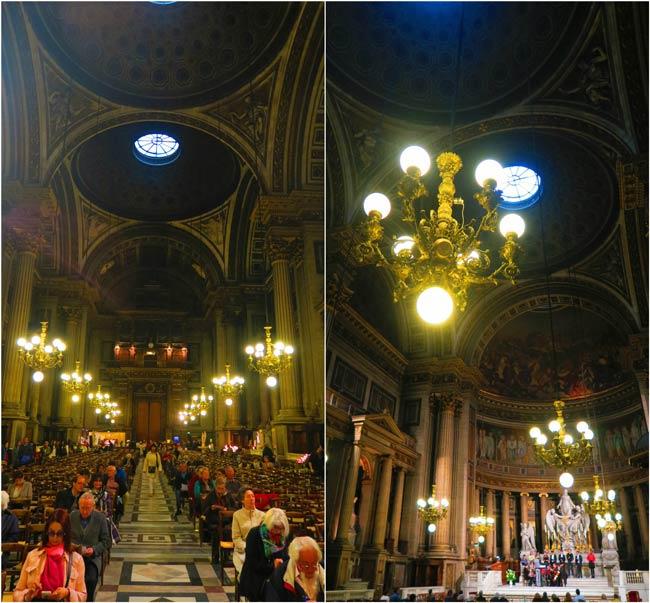 La Madeleine Paris Church interior