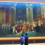 Louvre museum paris massive painting