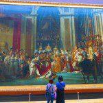 Louvre museum paris massive painting