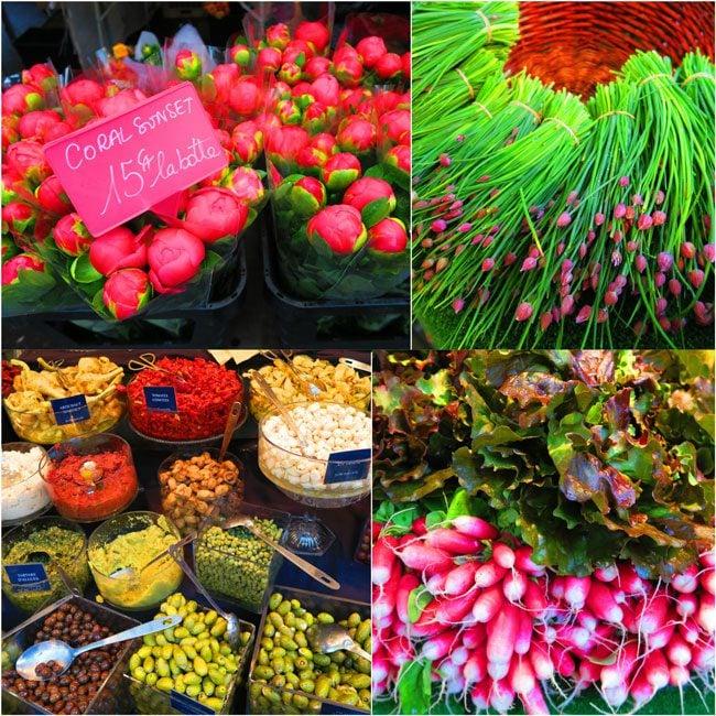 Marché biologique des Batignolles Paris bio market