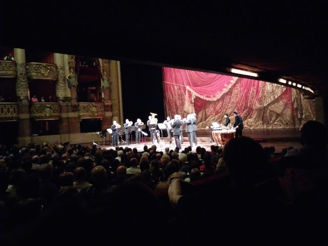 Musical show at Opera Garnier Paris