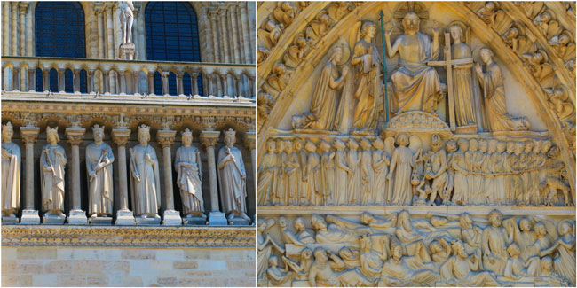 Notre Dam Paris art judgement day