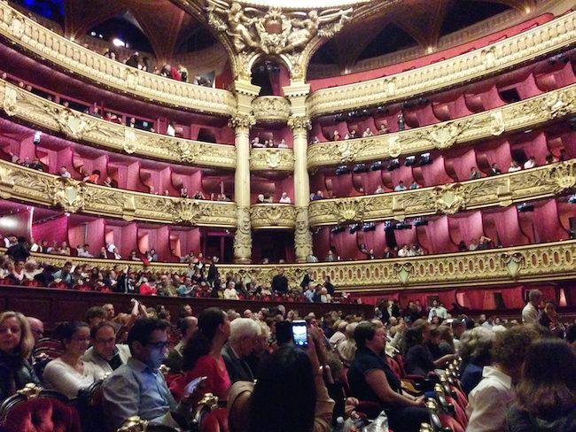 Opera Garnier Auditorium Paris