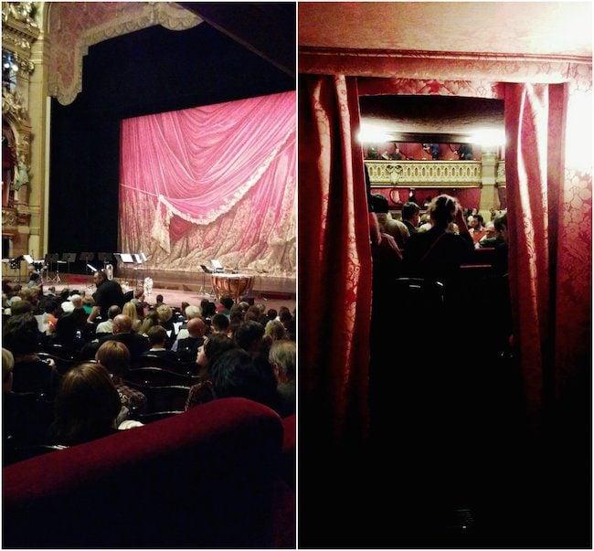 Opera Garnier seeing a show Live