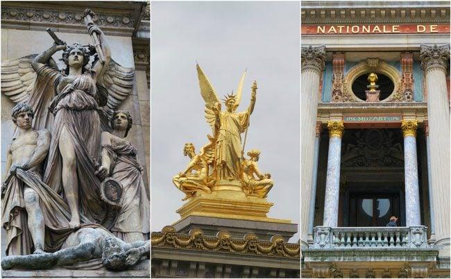 Palais Garnier Opera Garnier facade