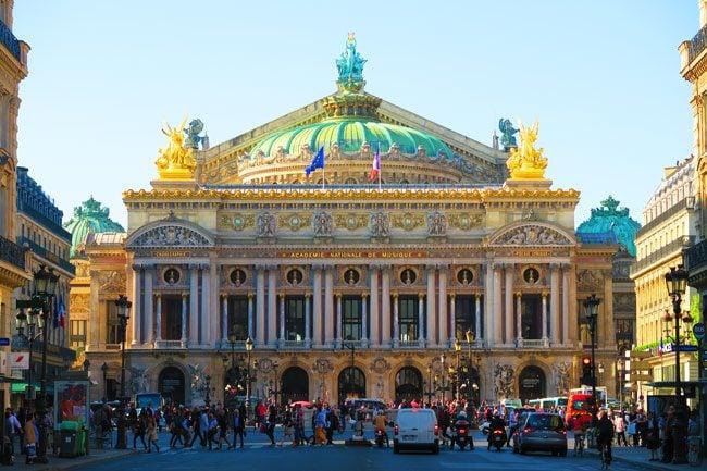 Palais Garnier Paris front