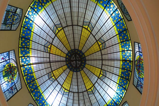 Passage des Princes glass ceiling
