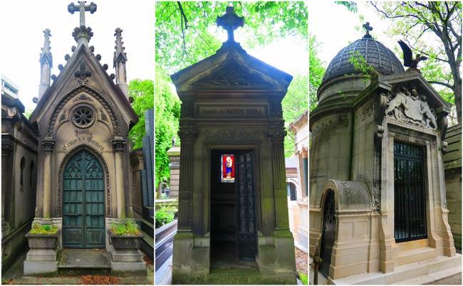 Pere Lachaise Cemetery Paris Graves