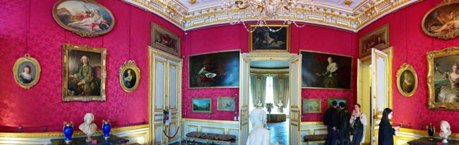 Picture Gallery at Musee Jacquemart Andre Paris museum