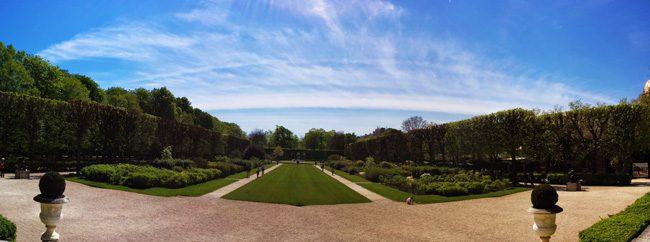 Rodin Mudeum Paris gardens