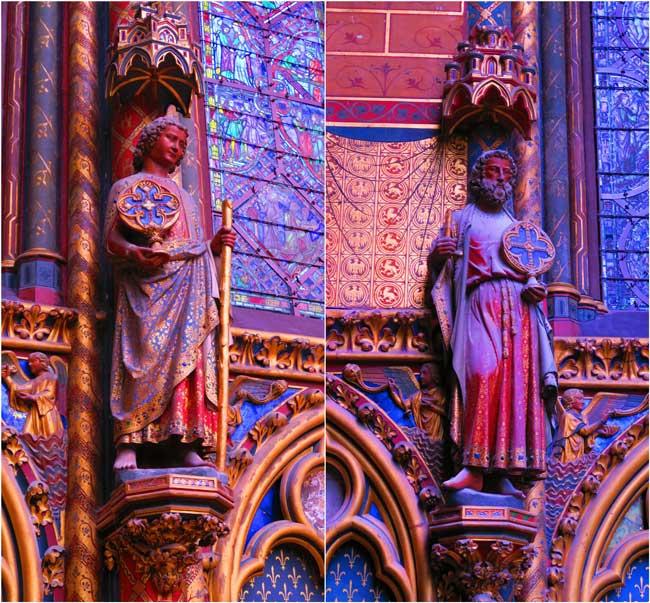 sainte chapelle paris holy figurines