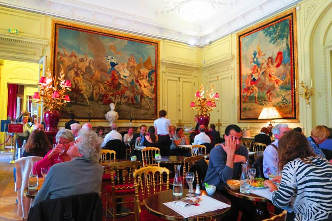Salon de The Musee Jacquemart Andre Paris museum tea room