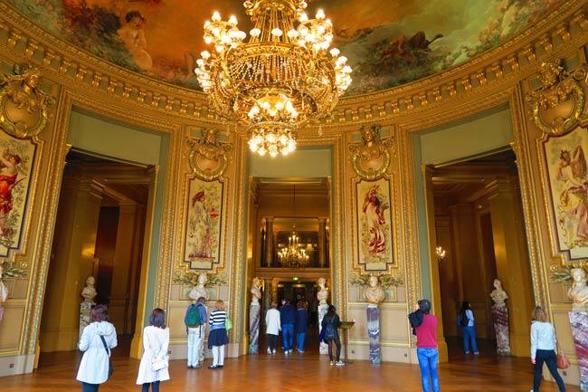 Salon du Glacier Palais Garnier Paris