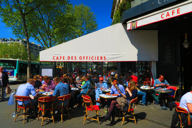 Sunny Cafe Des Officiers Paris