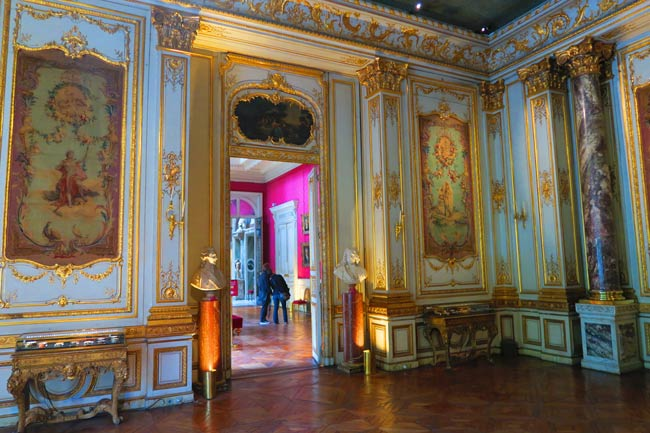 The Grand Salon at Musee Jacquemart Andre Paris