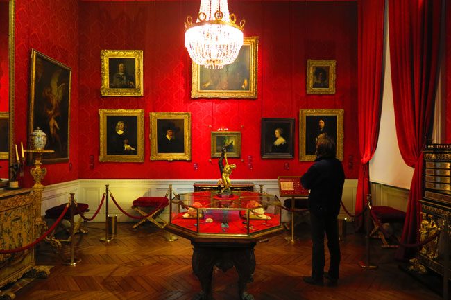 The Library at Musee Jacquemart Andre Paris museum