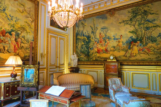 The Tapestry Room at the Musee Jacquemart Andre Paris museum