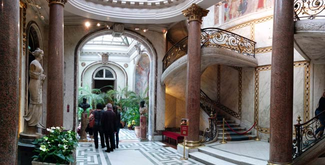 The Winter Garden panoramic view Musee Jacquemart Andre Paris museum