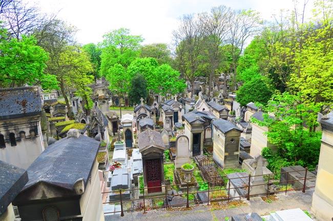 Visiting Pere Lachaise Cemetery Paris