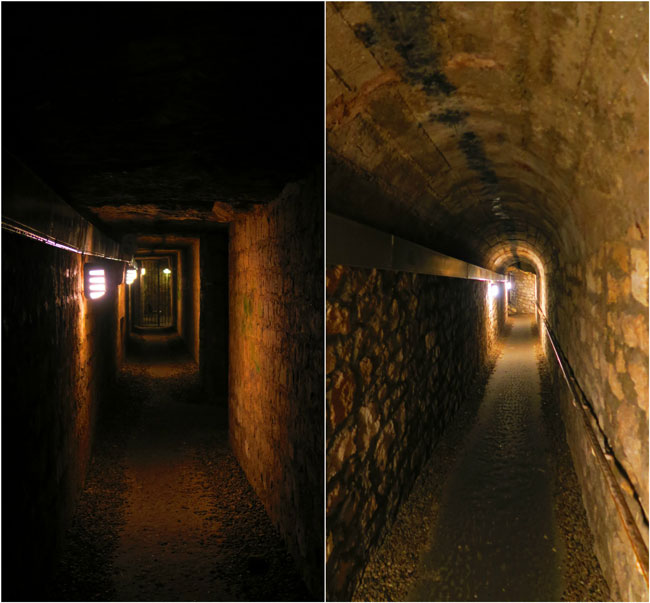 access tunnels paris catacombs