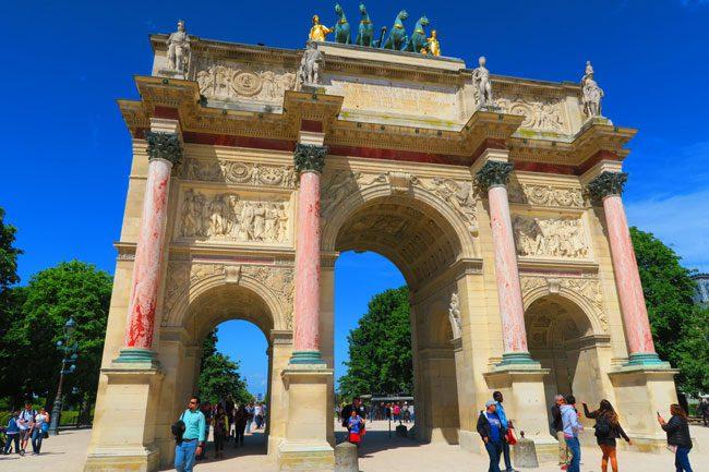 Arc de Triomphe du Carrousel Louvre