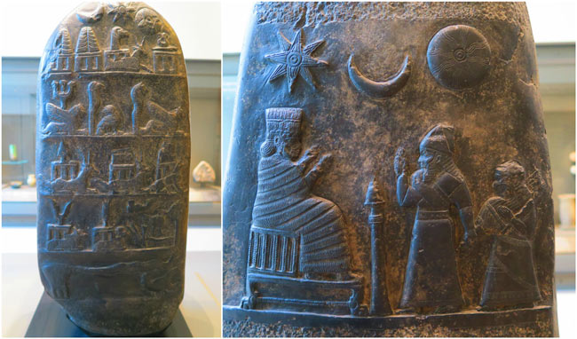 carvings from ancient Mesopotamia louvre