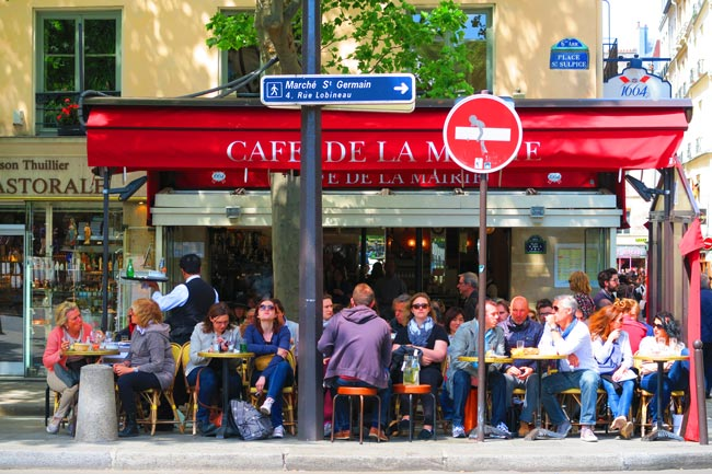 Café de la Mairie Saint Germain Paris