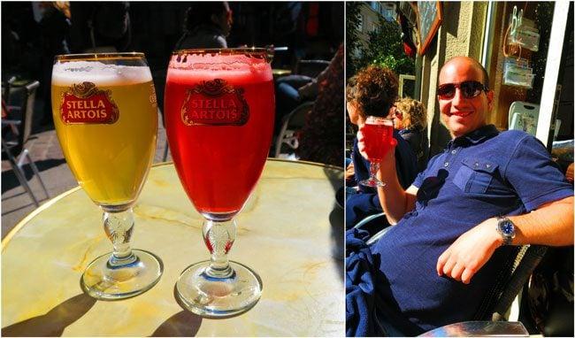 Charly's Bar saint malo monaco and demi peche