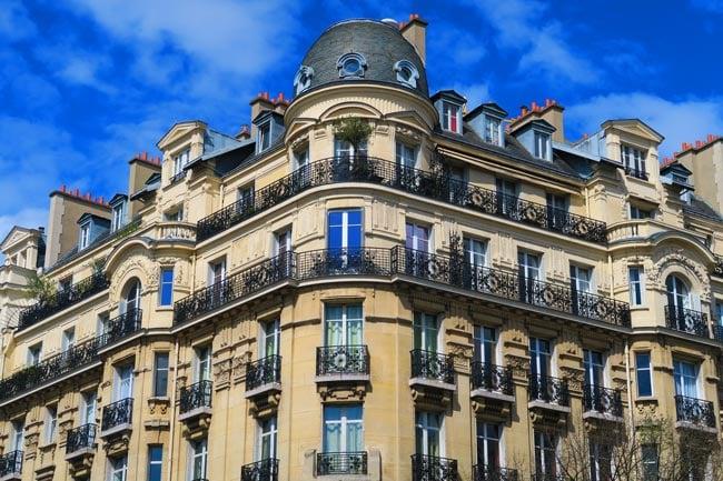 Classic Paris architecture saint germain itinerary