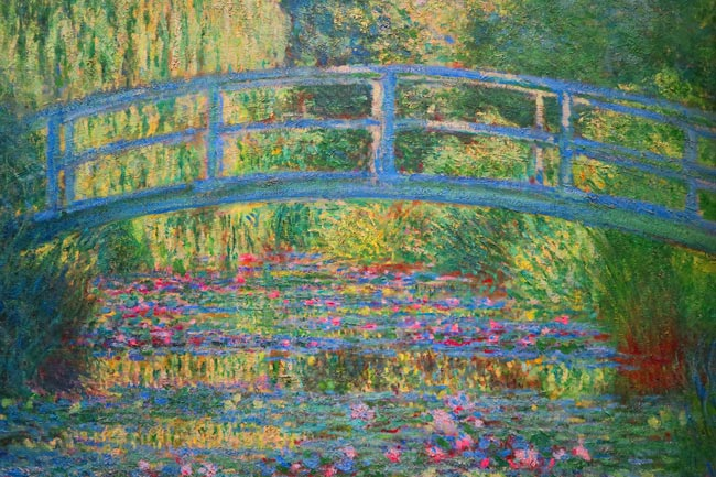 Claude Monet Painting From Giverny