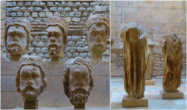 Cluny Museum of Medieval Art Paris 21 heads kings judea