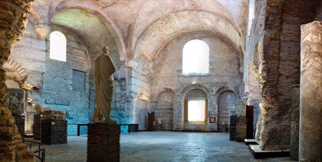 Cluny Museum of Medieval Art Paris roman baths