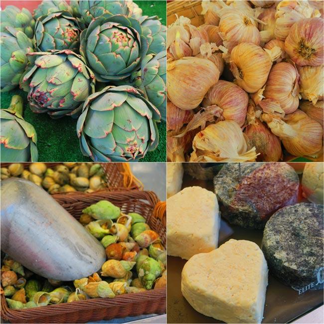 Edgar Quinet Market montparnasse food market paris
