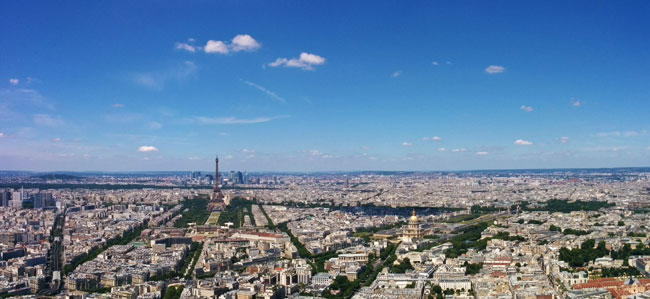 exploring montparnasse & southern paris - panoramic cover