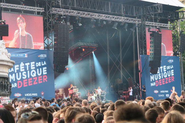 fete de la musique paris music festival ALB golden chains