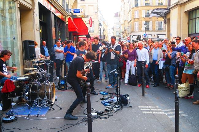 fete de la musique paris music festival marais guy on fire