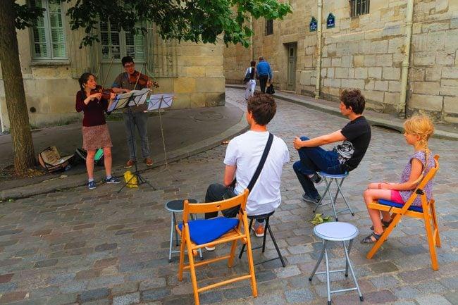 fete de la musique paris music festival pantheon violin