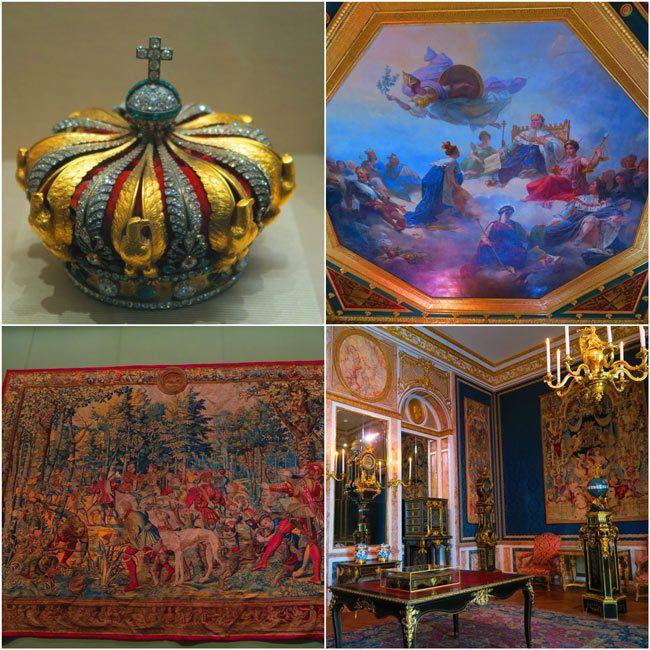 French royal artifacts Richelieu Wing louvre