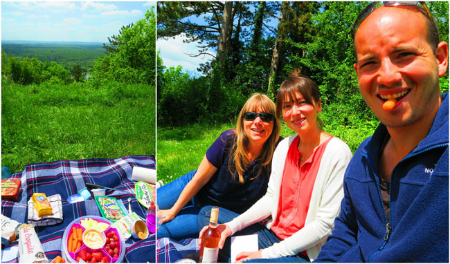 Giverny paris day trip picnic