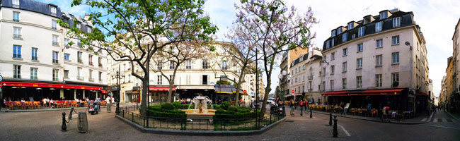 Latin Quarter itinerary - panoramic cover