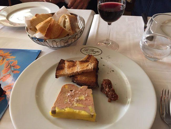 Le Procope Paris restaurant foie gras