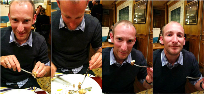 L'Ecailler Du Bistrot fun with snails Idan