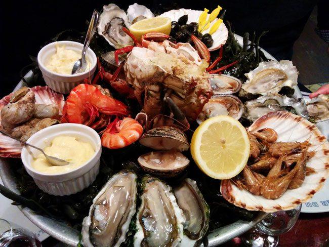 L'Ecailler Du Bistrot Paris seafood restaurant